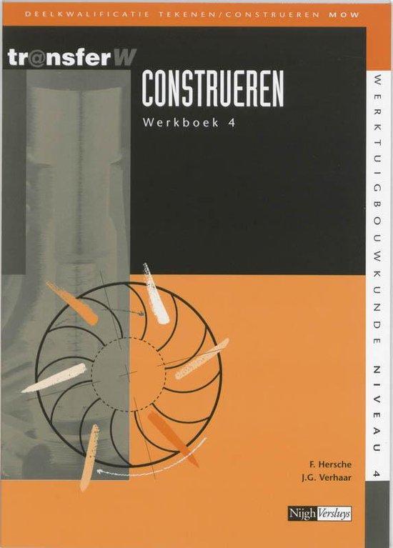 Construeren / 4 / Deel Werkboek - F. Hersche |