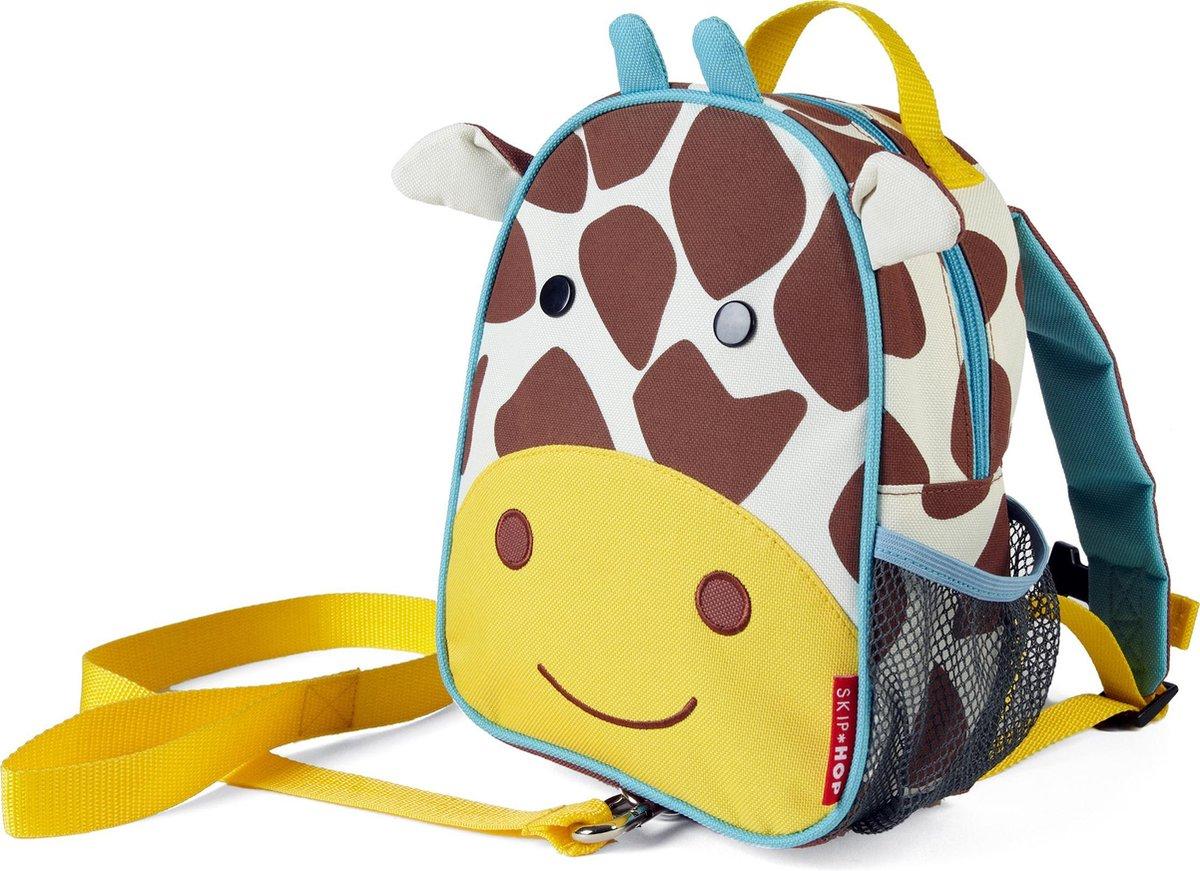 Skip Hop Zoo Kinderrugzak met looplijn 10 liter - Giraf - Skip hop