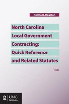 Omslag North Carolina Local Government Contracting