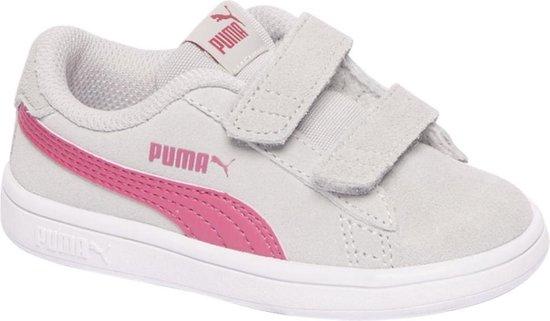 bol.com | Puma Kinderen Grijze Smash V2 - Maat 25