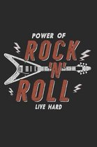 Power of Rock 'n' Roll Notebook