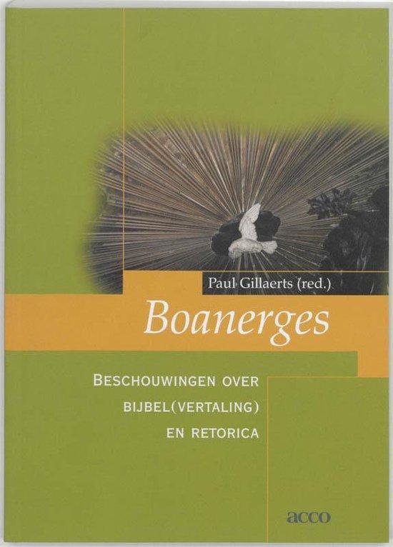 Boek cover Boanerges van P. Gillaerts (Paperback)