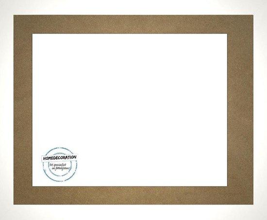 Homedecoration Misano – Fotolijst – Fotomaat – 50 x 94 cm  – Wit hoogglans