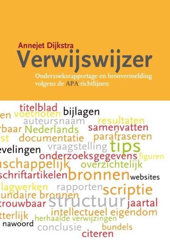 Verwijswijzer - Annejet Dijkstra |