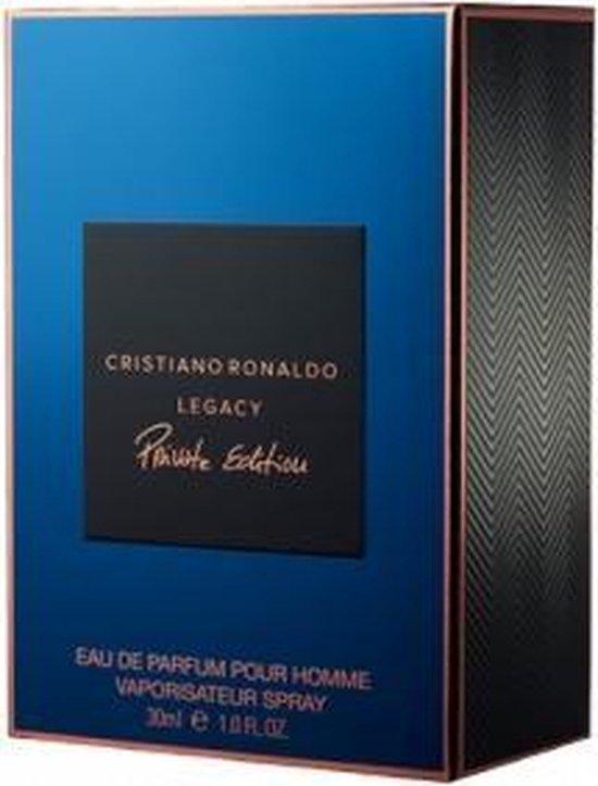 Cristiano Ronaldo Legacy Private Edition 30ml Mannen - Cristiano Ronaldo