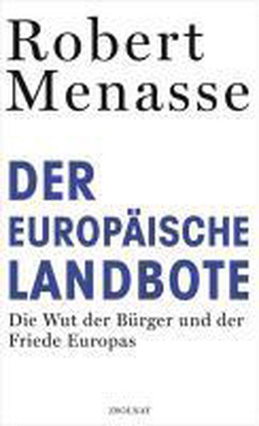 Boek cover Der Europäische Landbote van Robert Menasse