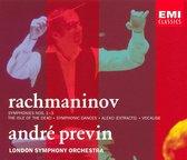 Rachmaninov: Symphonies nos 1-3, etc / Previn, London SO