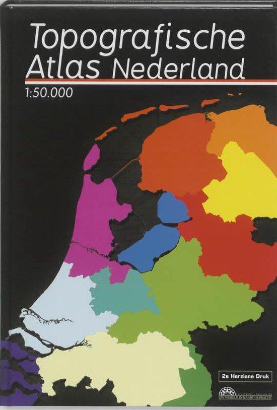 Topografische Atlas Nederland Schaal 1:50.000 - Marcel Kuiper   Fthsonline.com