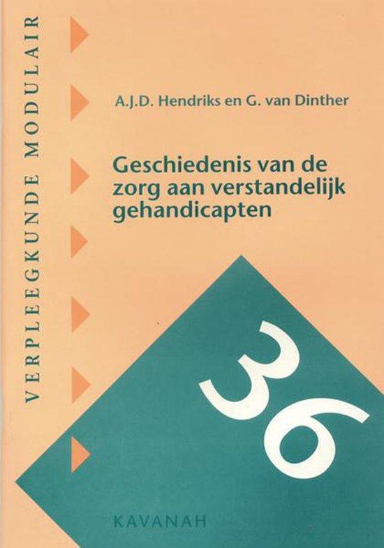 Geschiedenis van de zorg aan verstandelijk gehandicapten - A.J.D. Hendriks  