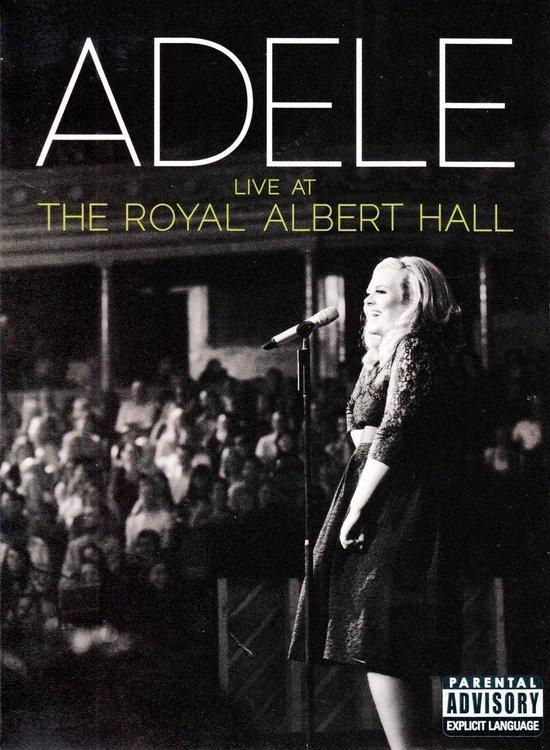 Cover van de film 'Adele - Live At The Royal Albert Hall'