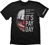 Payday 2 T-Shirt Chains Mask (Maat S)