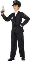 Politie agent verkleedset / carnaval kostuum voor jongens - carnavalskleding - voordelig geprijsd 128 (7-9 jaar)