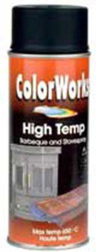Colorworks Hittebestendig Lakverf Zilver - 400 ml