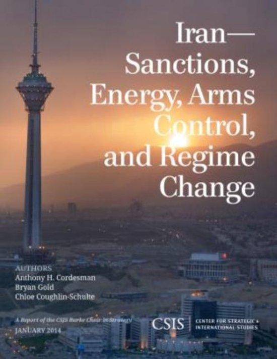 Boek cover Iran van Anthony H. Cordesman (Paperback)
