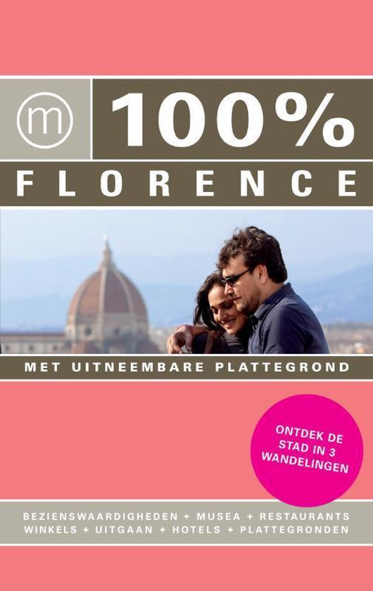 Cover van het boek '100% Florence' van R. van der Wielen