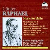 Raphael: Music For Violin