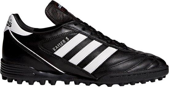 Adidas Kaiser 5 Team - Voetbalschoenen - 44 2/3 - Zwart/Wit