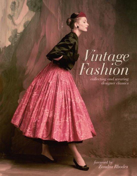 Boek cover Vintage Fashion van Emma Baxter-Wright (Hardcover)