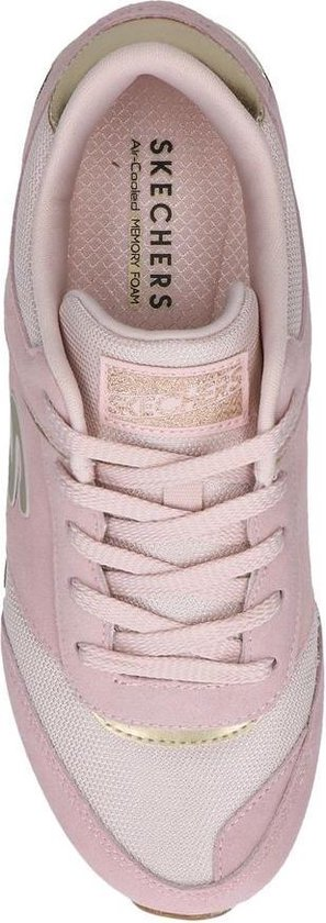 Skechers Sunlite Revival Dames Sneakers - Roze - Maat 41 BkHxR8ey