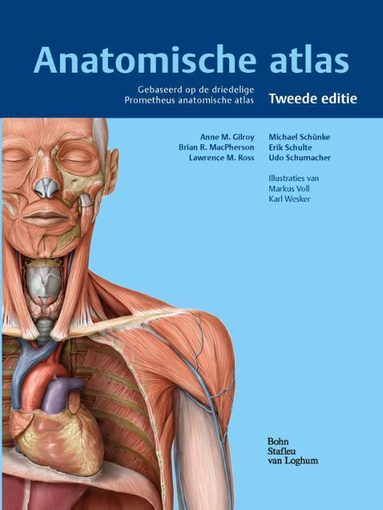 Boek cover Anatomische atlas van A.M. Gilroy (Hardcover)
