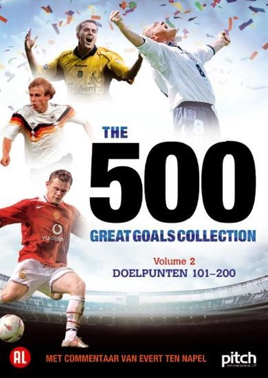 Cover van de film '500 Great Goals Vol.2'