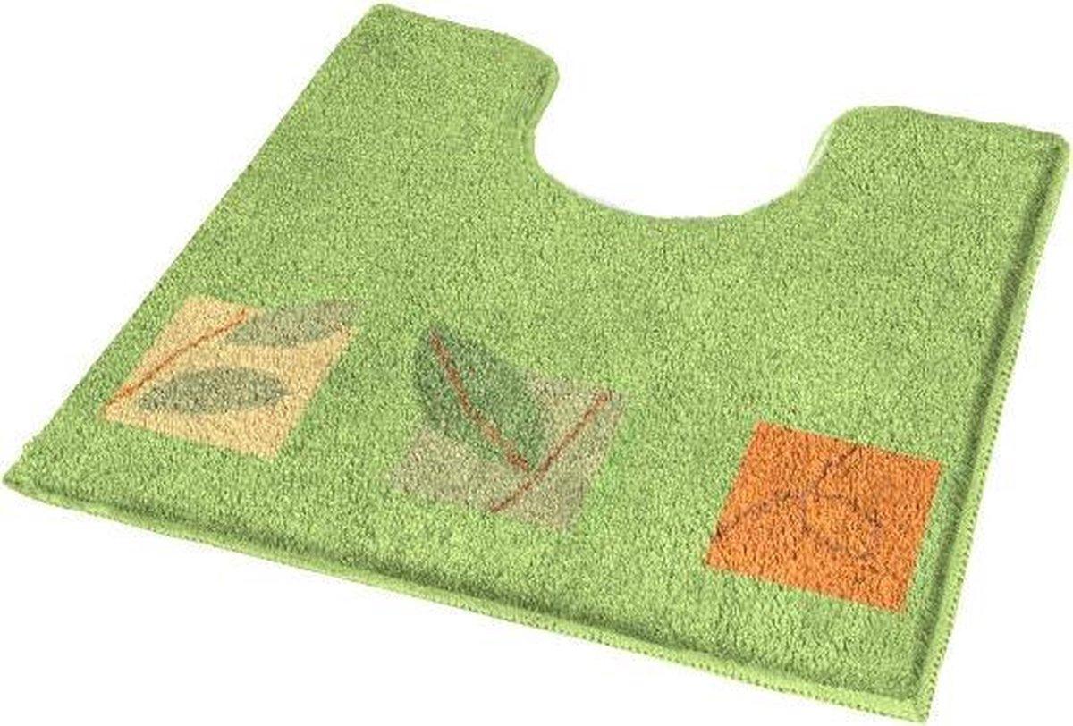 Toiletmat Idyll Groen 55x50cm - Kleine Wolke