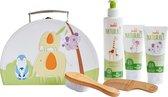 Zwitsal Naturals Geschenkset 4-delig - Shampoo, Billencrème, Body crème en Reiskoffertje