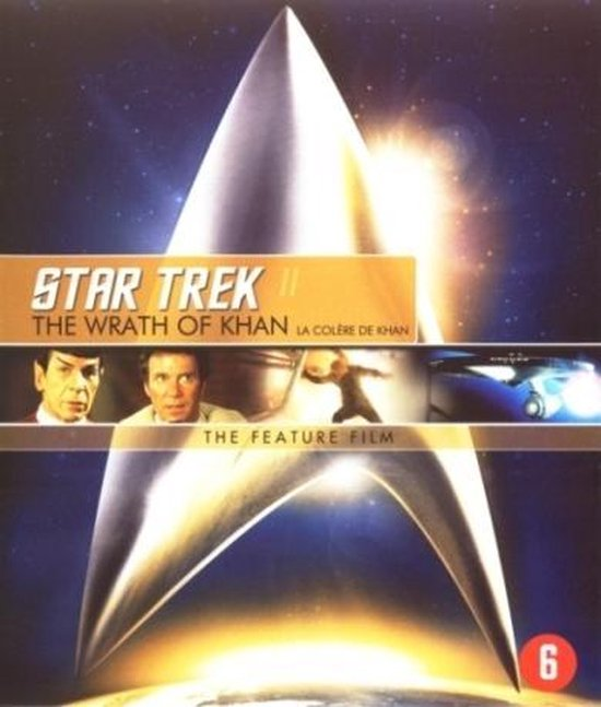 Cover van de film 'Star Trek II: The Wrath Of Khan'