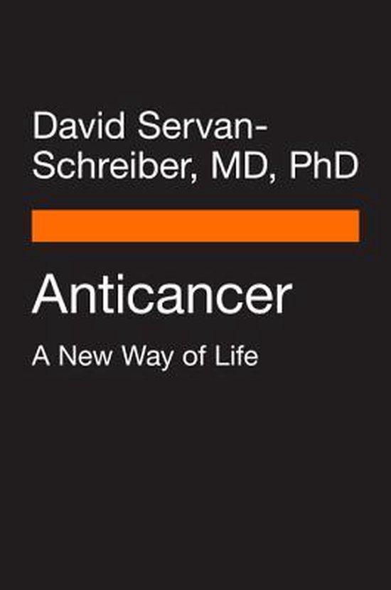 Boek cover Anti Cancer van Servan- Schreiber David (Paperback)
