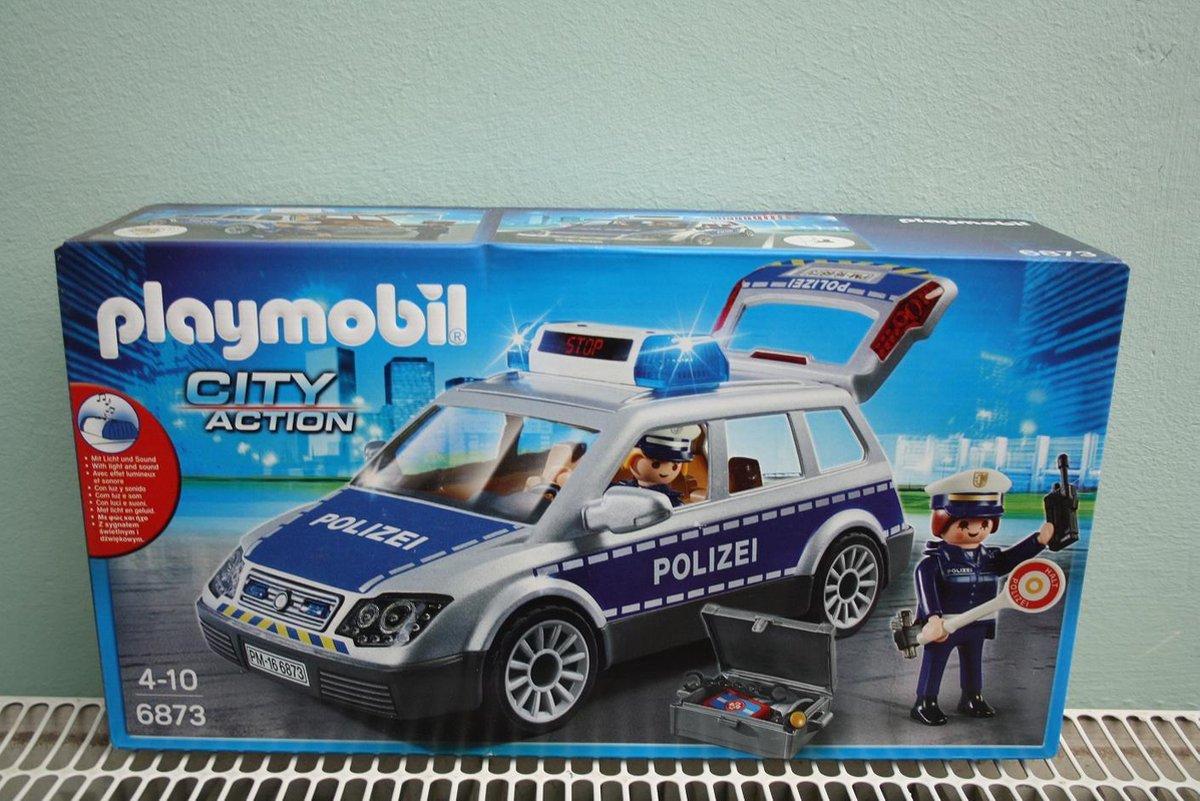 PLAYMOBIL Politiewagen - 6873