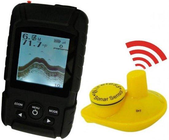 Draadloze Fish Finder / Dieptemeter P600 Pro