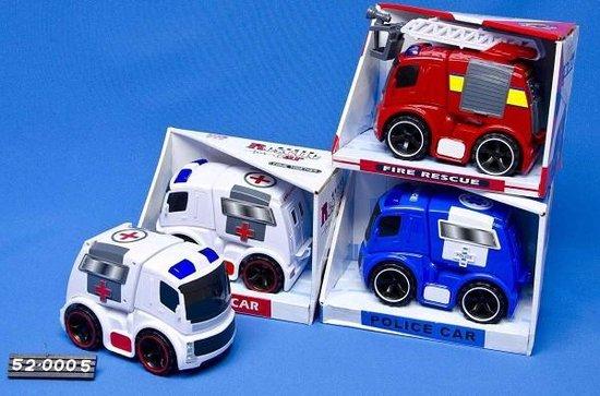 Rescue car ambulance