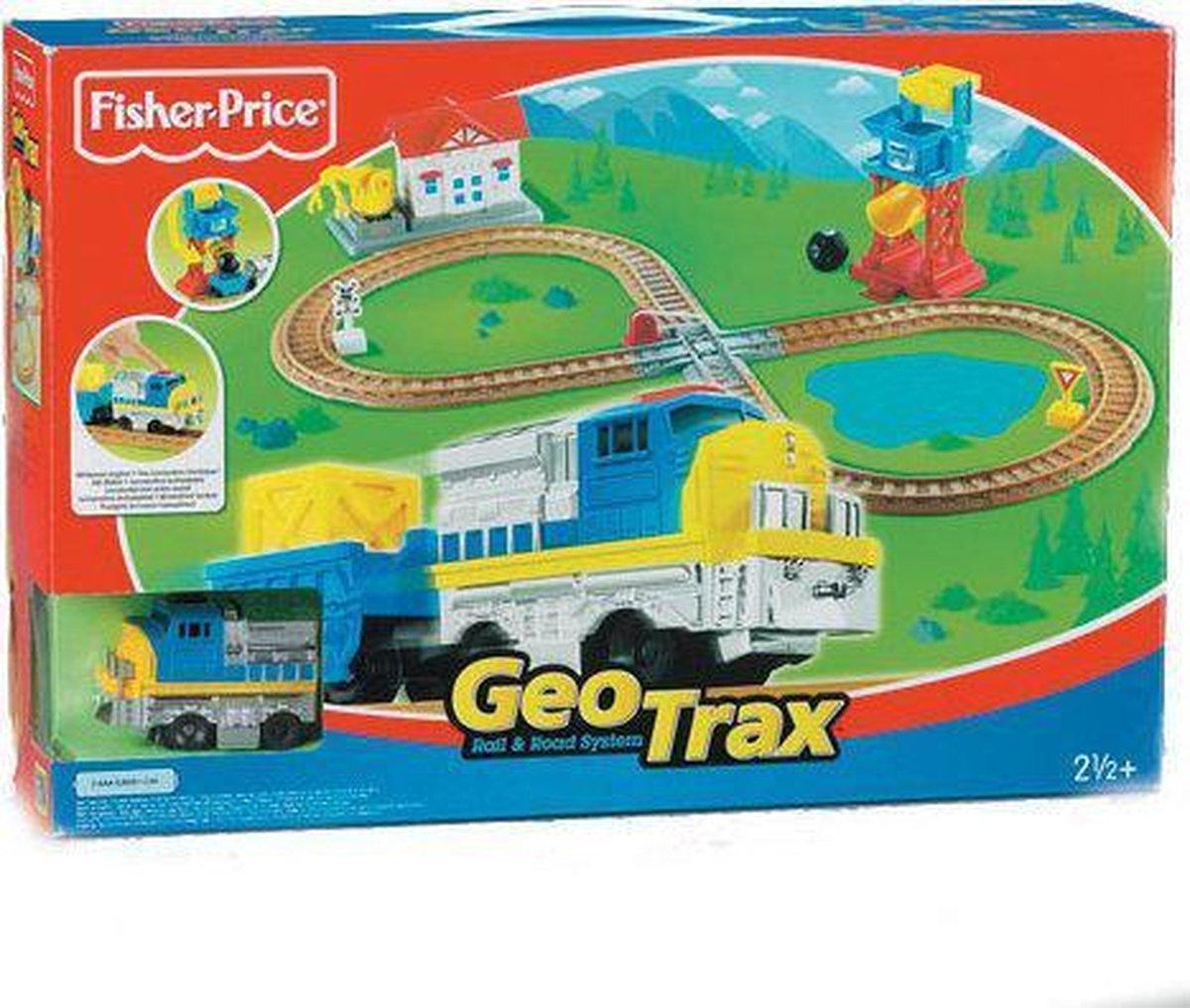 Fisher-Price Geotrax Starterset met Motor
