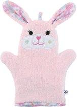 Zoocchini washandje - Beatrice the Bunny Konijn roze