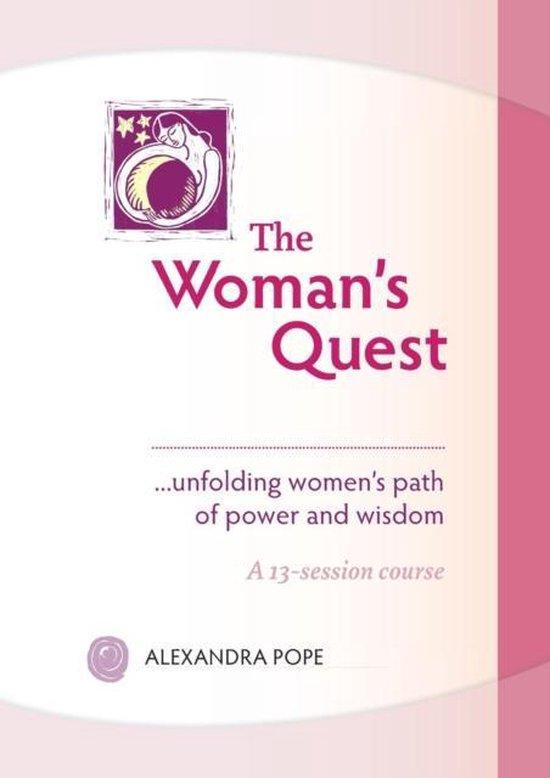 Boek cover The Womans Quest van Alexandra Pope (Paperback)
