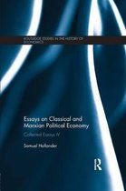 Essays on Classical and Marxian Political Economy