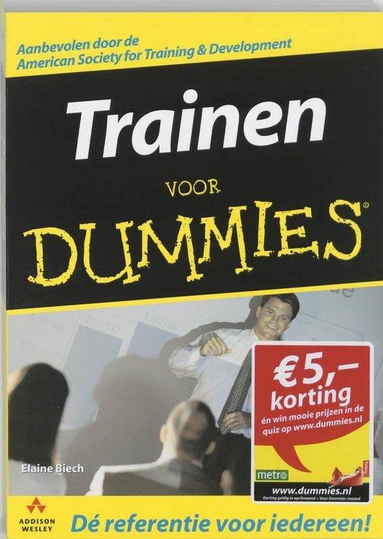Voor Dummies - Trainen voor Dummies - Elaine Biech | Readingchampions.org.uk