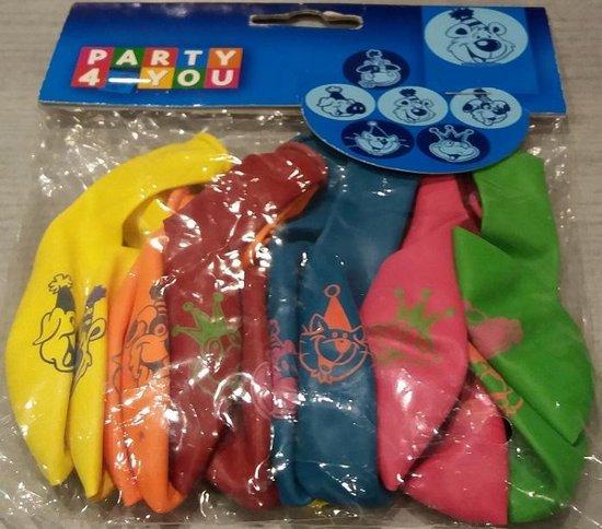 ballonnen - dieren - 10 stuks
