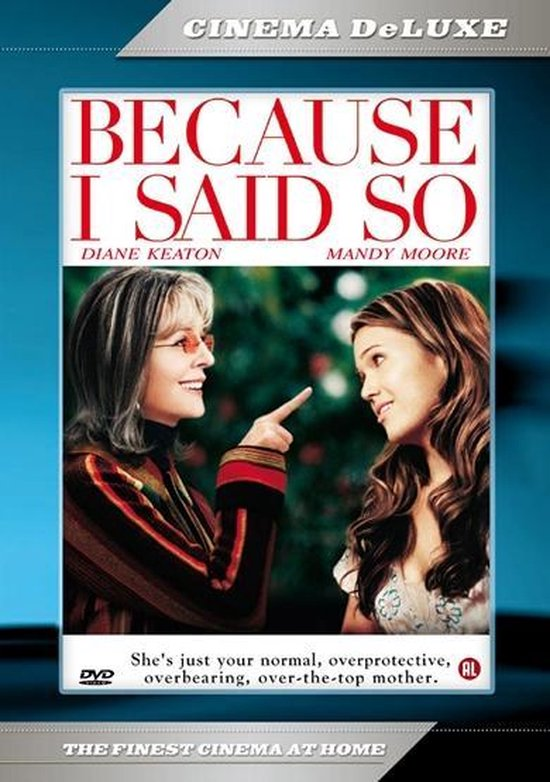 Cover van de film 'Because I Said So'