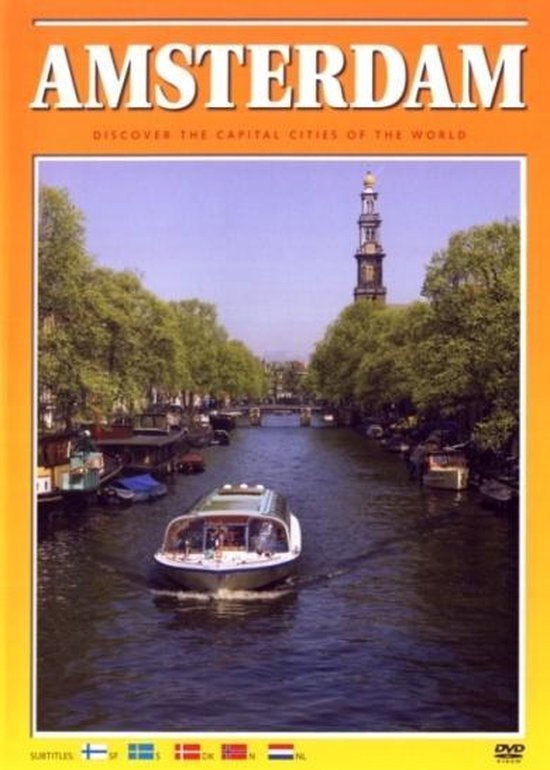 Cover van de film 'Amsterdam - Discover The Capital Cities Of The World'
