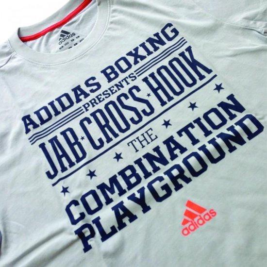 Adidas Graphic T-shirt Jab Cross Hook-xs