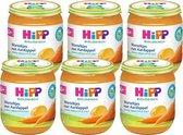 HiPP BIO maaltijd vanaf 4 maanden - Worteltjes met Aardappel - 6 stuks 125gr
