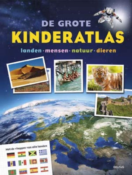 De grote kinderatlas - Andrea Schwendemann   Fthsonline.com