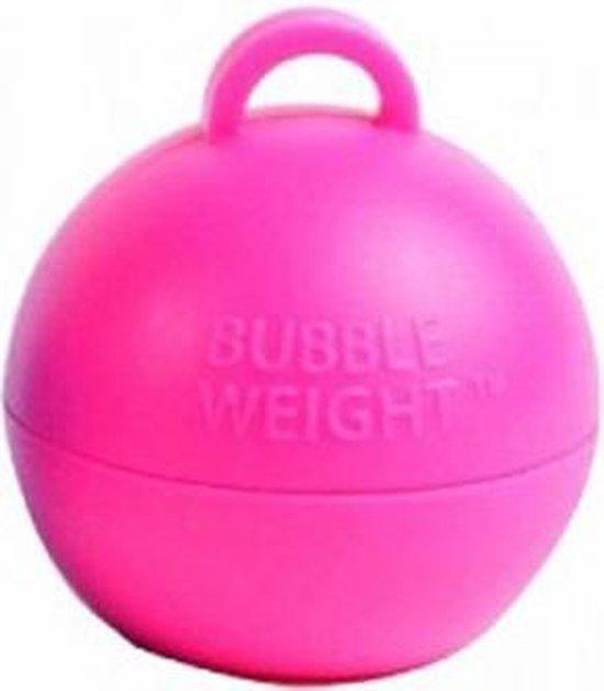 Ballongewicht bubble roze (35gr)
