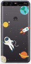Huawei P10 Hoesje Astronaut