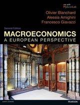 Boek cover Macroeconomics van Olivier Blanchard (Paperback)