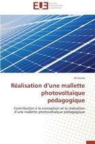 R�alisation D Une Mallette Photovolta�que P�dagogique