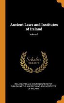 Ancient Laws and Institutes of Ireland; Volume 1