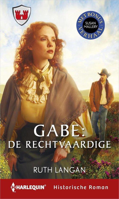 Harlequin- Gabe: de rechtvaardige ; Lucas (2-in-1) - Ruth Langan |