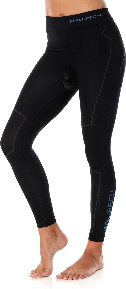 Dames Thermobroek - Thermokleding - met Nilit® Innergy-Zwart-XL